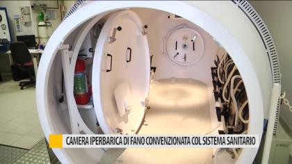 Camera iperbarica di Fano convenzionata col sistema sanitario – VIDEO