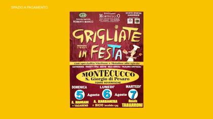 Grigliate in Festa – Montecucco (6 agosto 2018)