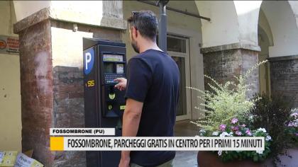 Fossombrone, Parcheggi gratis in centro per i primi 15 minuti – VIDEO