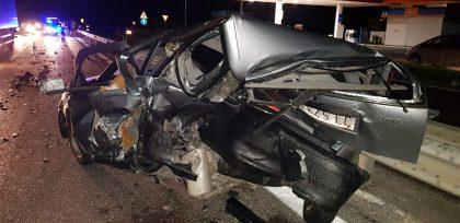 Miracolo sulla Fano – Grosseto. Sette persone escono illese da un pauroso incidente (FOTO E VIDEO)