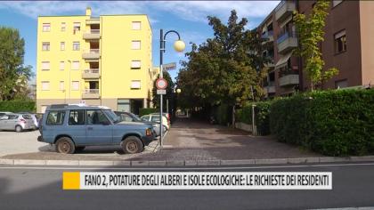Fano 2, potature degli alberi e isole ecologiche: le richieste dei residenti – VIDEO