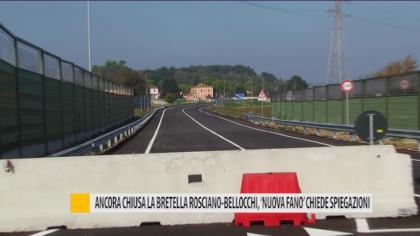 Ancora chiusa la bretella Rosciano-Bellocchi, 'Nuova Fano' chiede spiegazioni – VIDEO