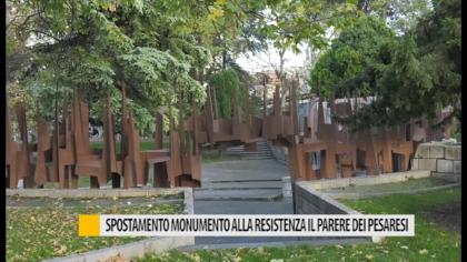 Spostamento del monumento alla resistenza. Il parere dei pesaresi – VIDEO