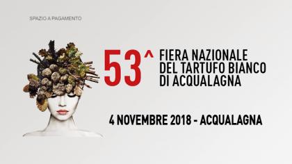 53^ Fiera Nazionale del Tartufo Bianco di Acqualagna  (4 novembre 2018)