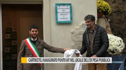 Cartoceto, inaugurato il locale dell'ex pesa pubblica – VIDEO