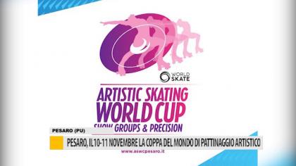 Pesaro, il 10-11 novembre la coppa del mondo di pattinaggio artistico – VIDEO