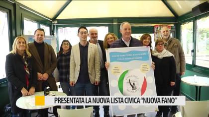 """Presentata la nuova lista civica """"Nuova Fano"""" – VIDEO"""