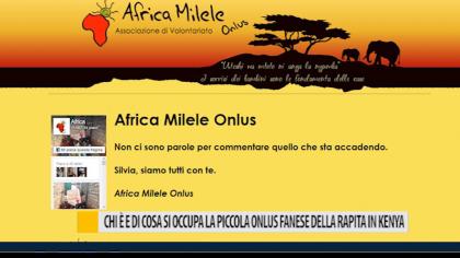 Chi è e di che cosa si occupa la piccola onlus fanese della rapita in Kenya – VIDEO