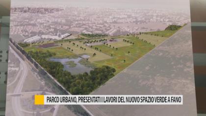Parco urbano, presentati i lavori del nuovo spazio verde a Fano – VIDEO