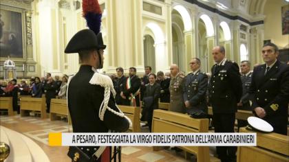 A Pesaro, festeggiata la Virgo Fidelis: Patrona dell'Arma dei Carabinieri – VIDEO