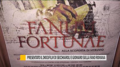 Presentato il docufilm di Secchiaroli e Giomaro sulla Fano romana – VIDEO