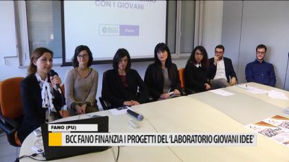 """BCC Fano finanzia i progetti del """"Laboratorio Giovani Idee"""" – VIDEO"""