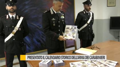 Presentato il calendario storico dell'Arma dei Carabinieri – VIDEO