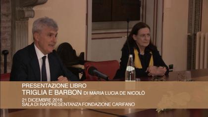 """Presentazione libro """"Triglia e Barbon"""" (21 dicembre 2018)"""