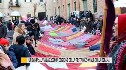 """Urbania, al via la 22esima edizione della """"Festa Nazionale della Befana"""" – VIDEO"""