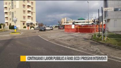Continuano i lavori pubblici a Fano: ecco i prossimi interventi – VIDEO