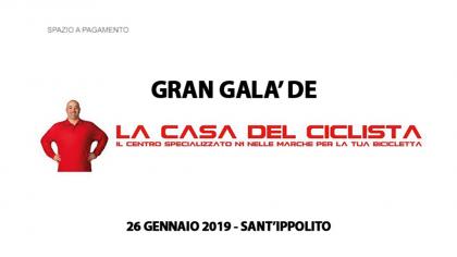 "Gran Galà de ""La Casa del Ciclista"" – Sant'Ippolito (26 gennaio 2019)"