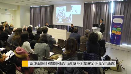 """Vaccinazioni, il punto della situazione nel congresso della """"Siti"""" a Fano – VIDEO"""