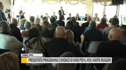 Presentato programma e sindaco di Fano per il M5S: Marta Ruggeri – VIDEO