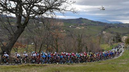 Tirreno Adriatica a Cartoceto. ecco le modifiche alla circolazione