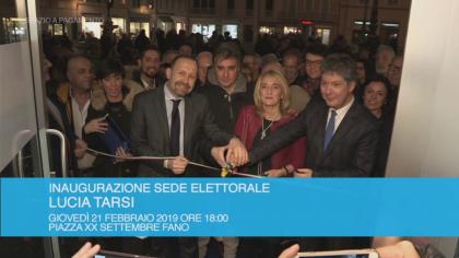 Inaugurazione sede elettorale – Lucia Tarsi (21 febbraio 2019)