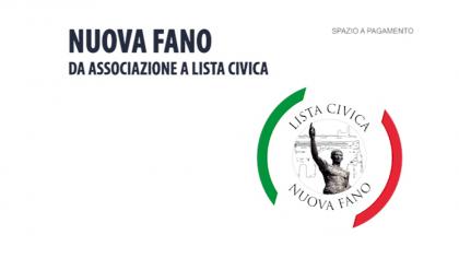 NUOVA FANO – Da associazione a lista civica (marzo 2019)