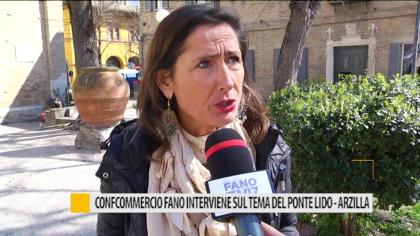 La Confcommercio di Fano interviene sul tema del ponte Lido-Arzilla – VIDEO
