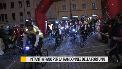 "In tanti a Fano per la ""Randonnèe della Fortuna"" – VIDEO"