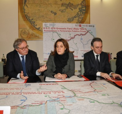 Infrastrutture: Fano-Grosseto; decisa società di progetto