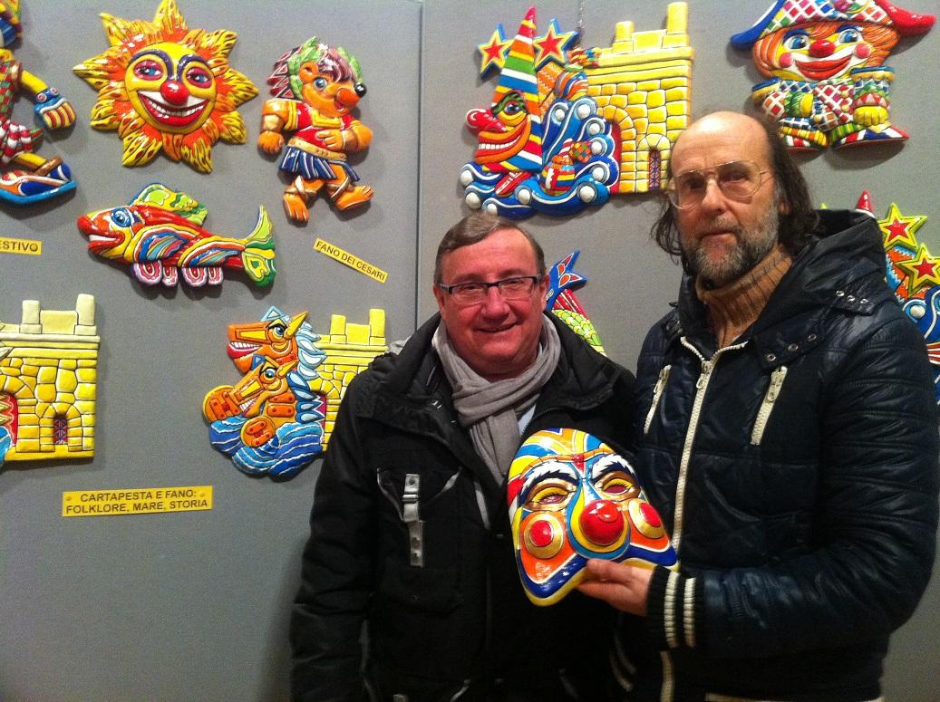 Luciano Cecchini e Riccardo Deli