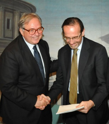 Spacca consegna a Nencini il dossier sulle infrastrutture marchigiane
