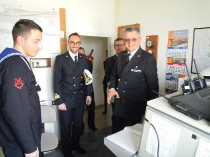 Il Vice Comandante Generale del Corpo delle Capitanerie di Porto in visita ufficiale a Fano