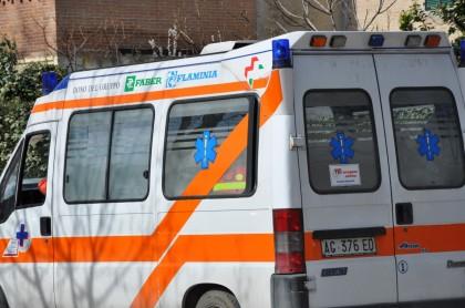 Incidente davanti la stazione a Fano, un ferito