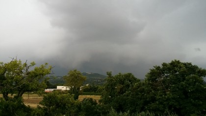 Maltempo: pioggia, vento e mareggiate previste nelle Marche