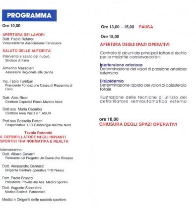 programma fanocuore 2014