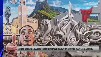 Fano in Florida disegnata su un murale – VIDEO
