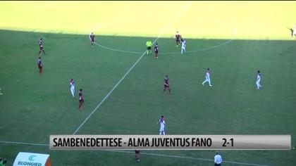 Alma sconfitta a San Benedetto  2 a 1 – VIDEO