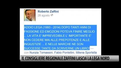 Il Consigliere regionale Zaffini lascia la Lega Nord – VIDEO