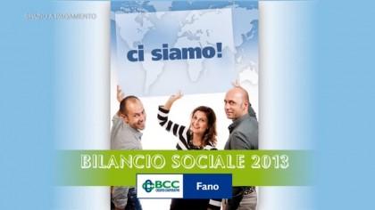 Bilancio Sociale BCC Fano 2013