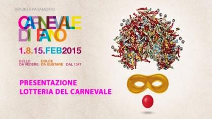 Presentazione lotteria del Carnevale di Fano