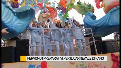 Fervono i preparativi per il Carnevale di Fano.  Ecco le ultime novità – VIDEO