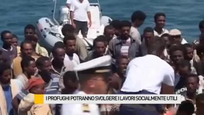 I profughi potranno svolgere i lavori socialmente utili – VIDEO