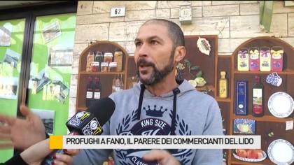 Profughi a Fano, il parere dei commercianti del Lido – VIDEO