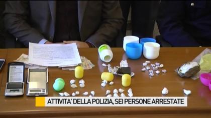 Sei persone arrestate negli ultimi giorni dalla Squadra Mobile di Pesaro – VIDEO