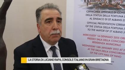 La storia di Luciano Rapa, Console Onorario italiano in Gran Bretagna – VIDEO
