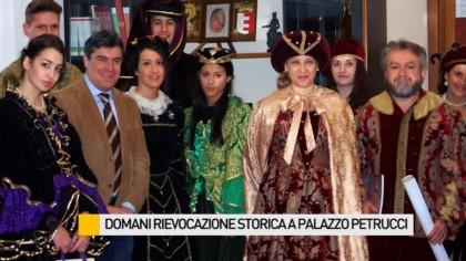 Rievocazione storica a Palazzo Petrucci – VIDEO