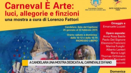 A Candelara una mostra dedicata al Carnevale di Fano – VIDEO