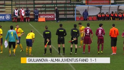 Giulianova – Alma Juventus Fano     1-1 – VIDEO