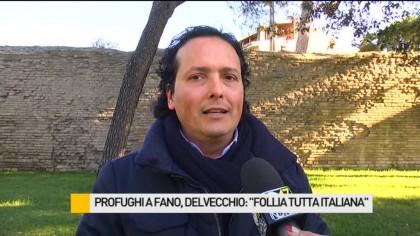 """Profughi a Fano, Delvecchio (UDC): """"Follia tutta italiana"""" – VIDEO"""