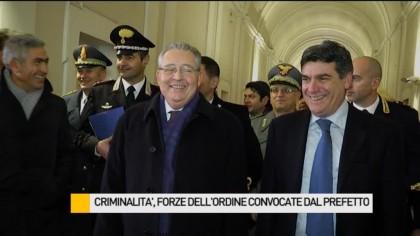 Criminalità, forze dell'ordine convocate dal Prefetto Luigi Pizzi – VIDEO